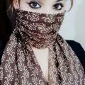 Mask cotton duppata design