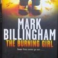 The Burning girl by Mark Bellingham