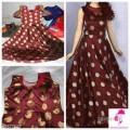 Drishya Ethnic Jacquard Silk Gowns