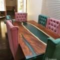 Resin designer dinning table