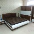 Full bedroom set in plywood