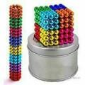 Magnatic balls colored for kids puzzel 216 pcs