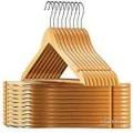 Wooden hangers 12 pcs