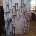 Printed 3 door wardrobe in Sola