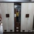 Big size 5 door wardrobe