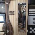 2 Door Wardrobe with Mirror & drawer