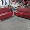3+2 Armless Sofa For Office Use