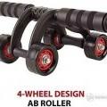 4 wheel ab roller Free shipping