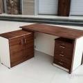 office table 5/2.5 curvika table L shape