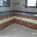 Solid pvc modular kitchen in Adajan